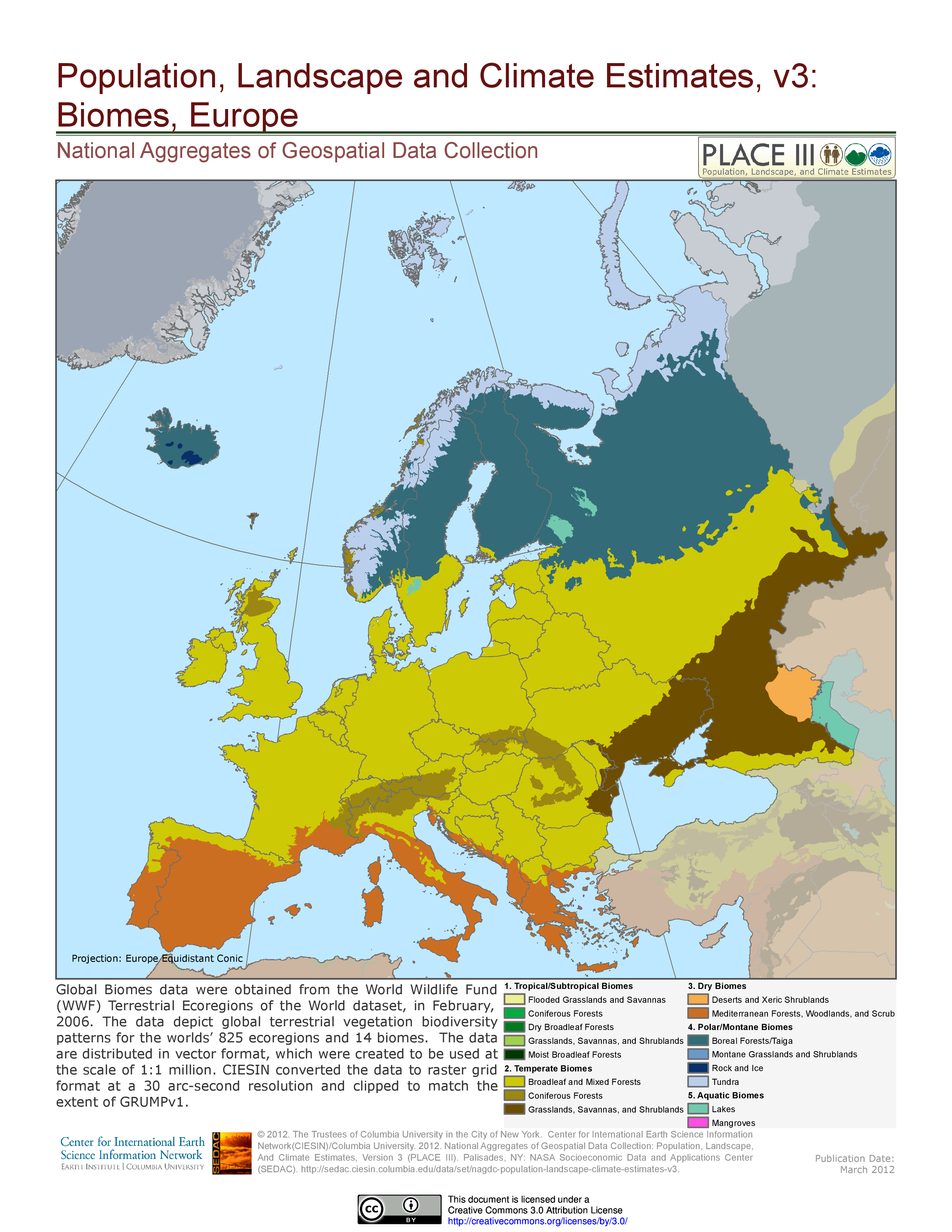 Biomes Of Europe