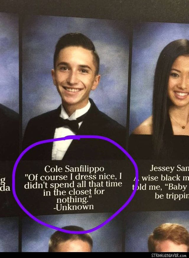 Funny Scenes From A Yearbook (mit Bildern)