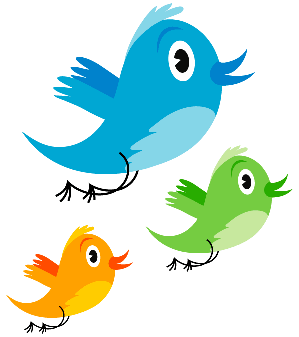 cute twitter bird vector image clip art rh pinterest com vector bird images vector bird images