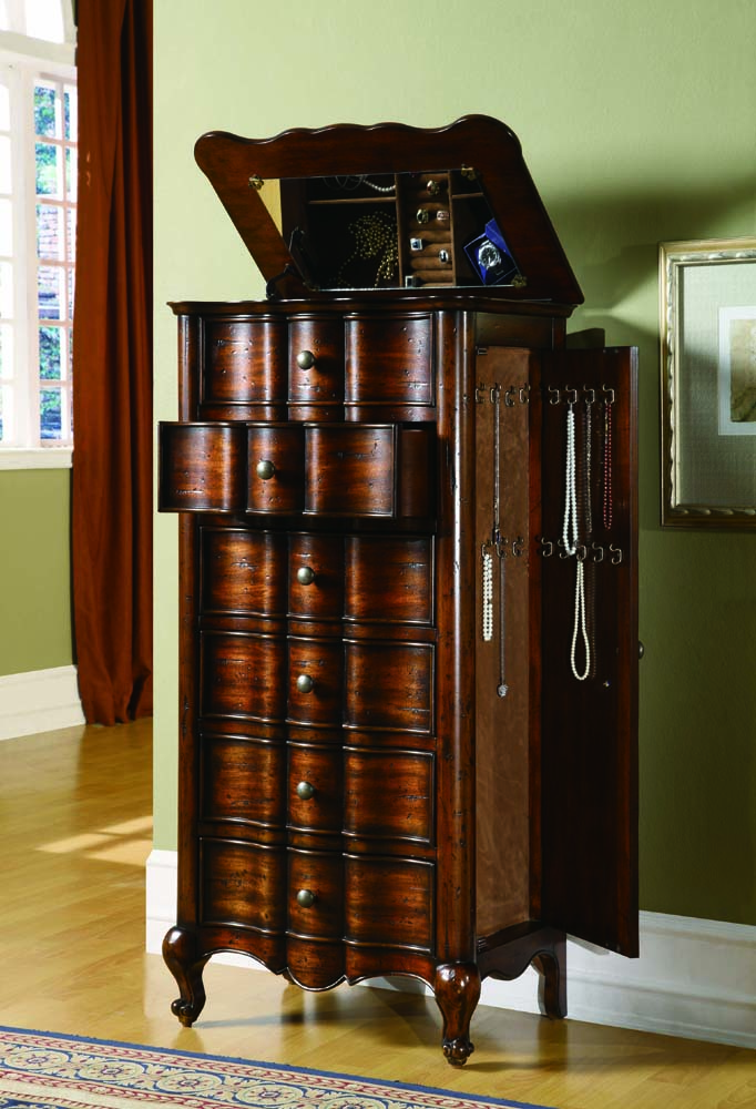 French Jewelry Armoire Hooker Furniture Home Gallery Stores
