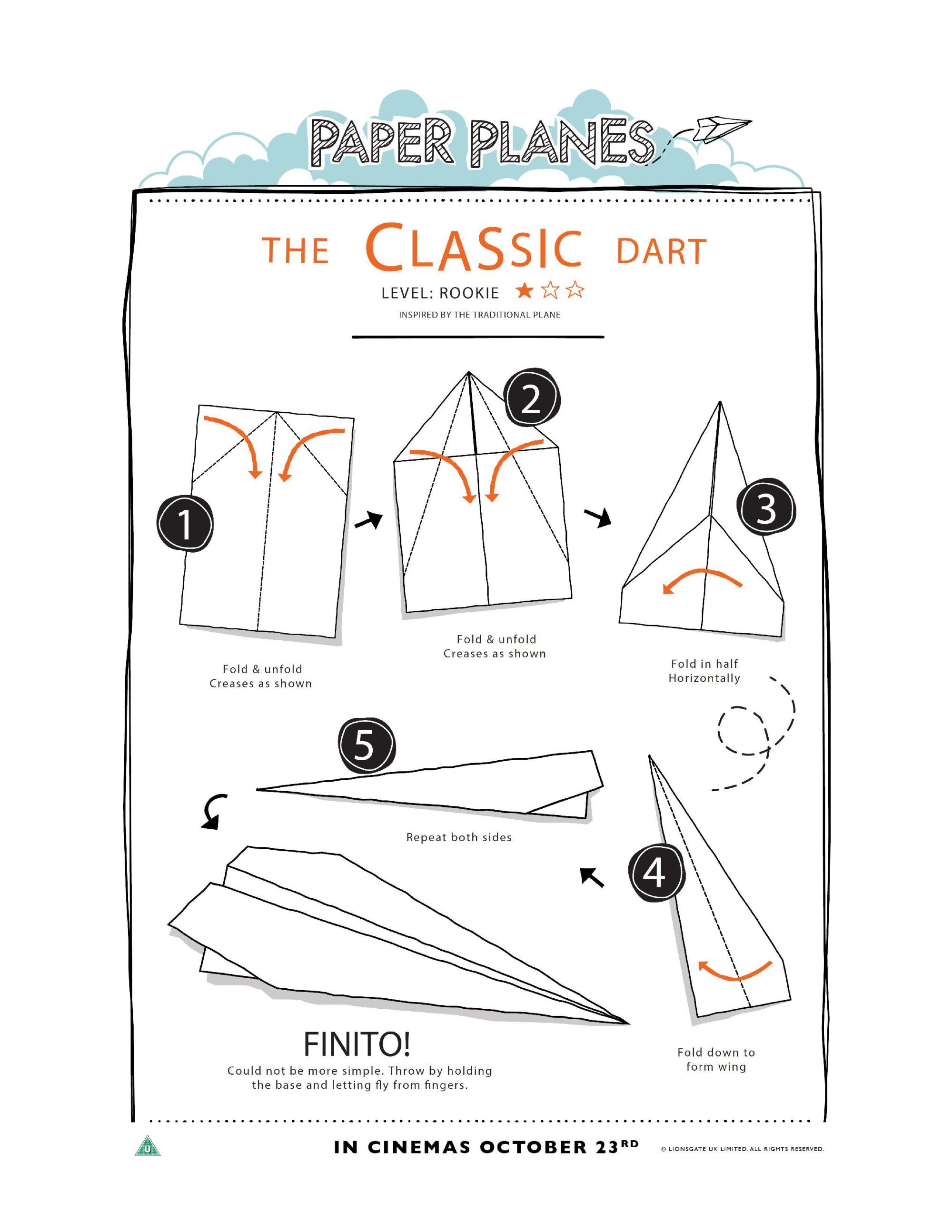 How To Fold Paper Planes