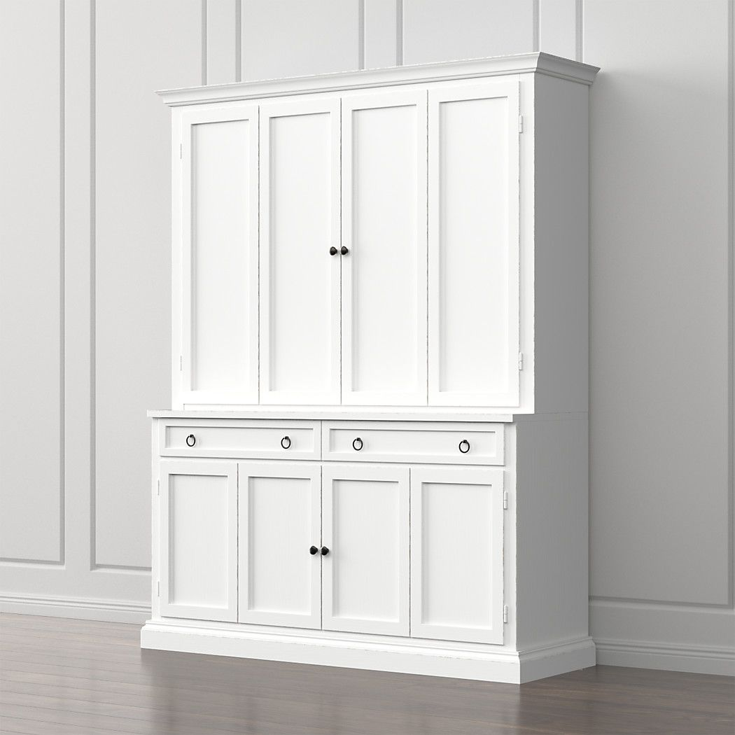 Furniture Cameo White Modular Storage And Media Pieces
