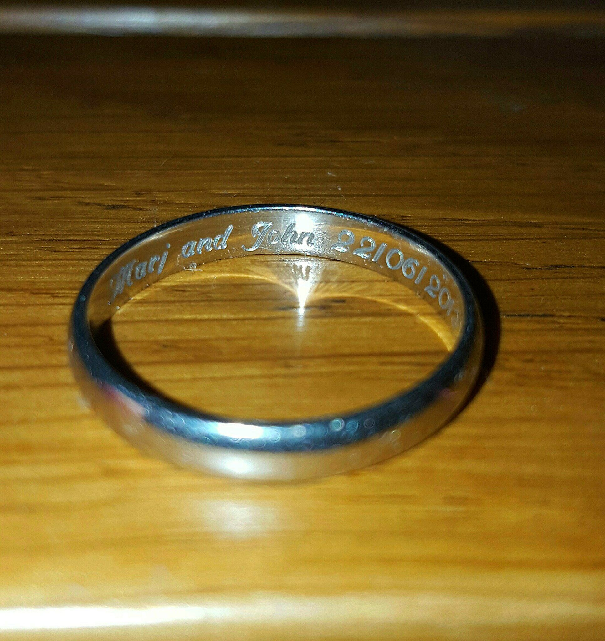 My Husband Lost His Platinum Band Wedding Ring He Likely Lost It At