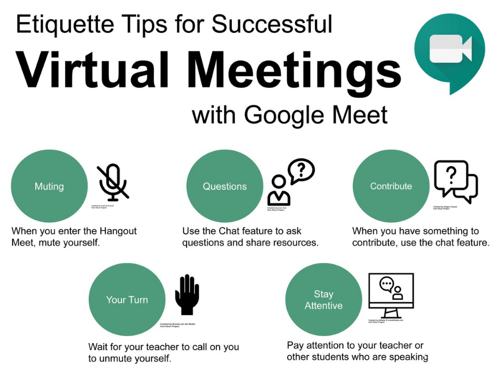 Google Meet Etiquette For Students Google Search Online Teaching Digital Classroom 21st Century Classroom