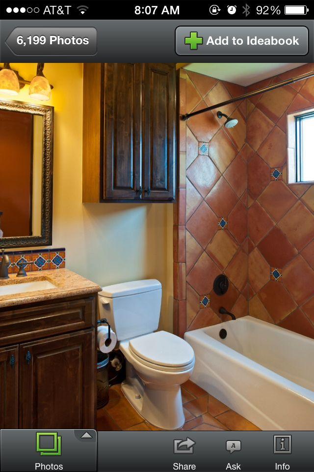 Spanish Bathroom Mexican Tile Bathroom Hotel Bathroom Design Bathroom Design