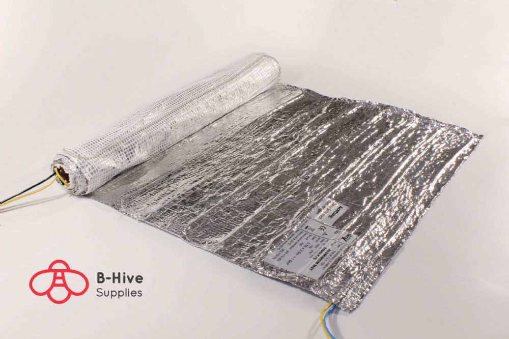 B-Hive Underfloor Heating for Wooden Carpeted floor finishes BHWF - 150W You can now enjoy the beauty of a wooden or carpeted floor with the comfort
