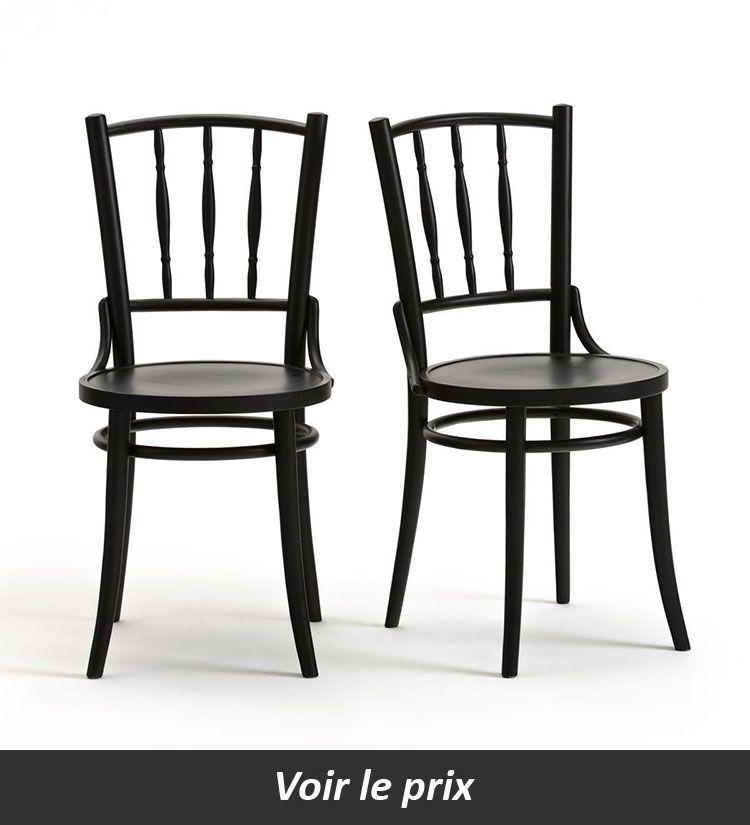 Chaise Bistrot 11 Modeles Pour Un Interieur Au Look Retro Chaise Bistrot Chaise Chaise Design
