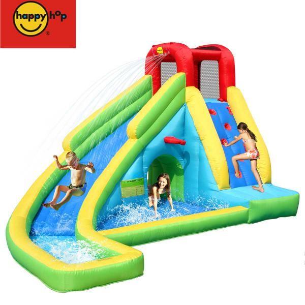 Inflatable Water Slide Target Australia: Happy Hop Water Riders Fun Zone Slide 420L X 320W X 230Hcm