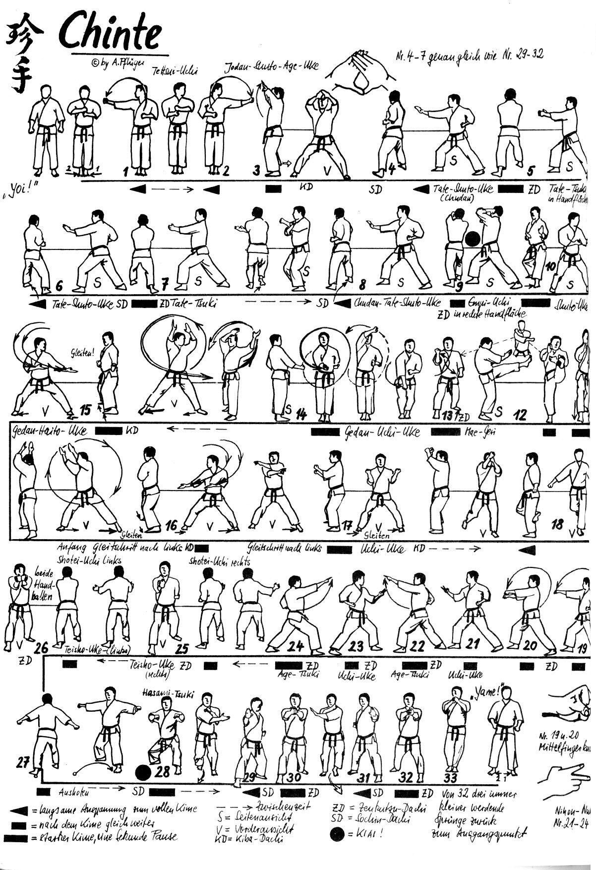 Chinte Kata Shotokan