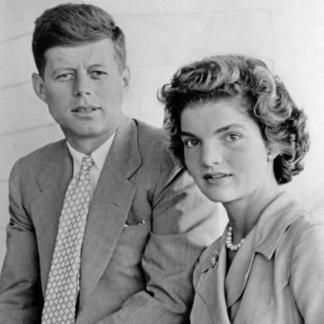 Photo: Engagement Portrait of John Kennedy and Jac