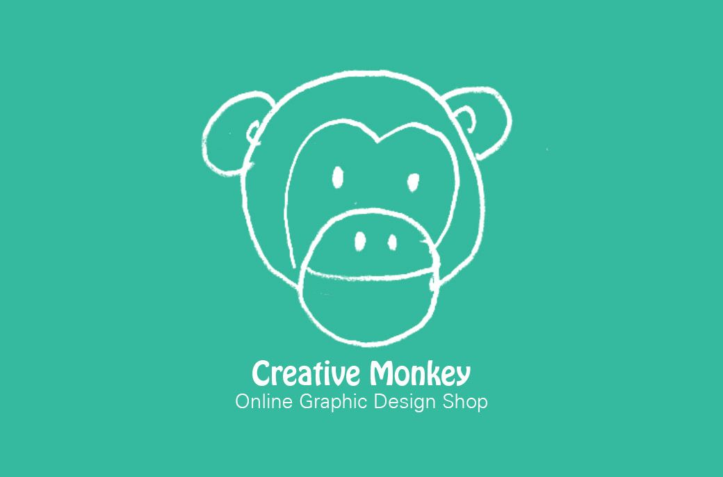 Creative Monkey Shop Business Card (back) designed by me at Nic\'s ...