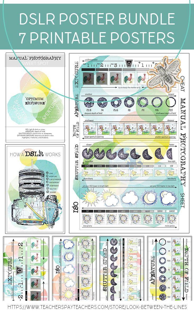 Writing Poster Pack Bundle Manual Guide