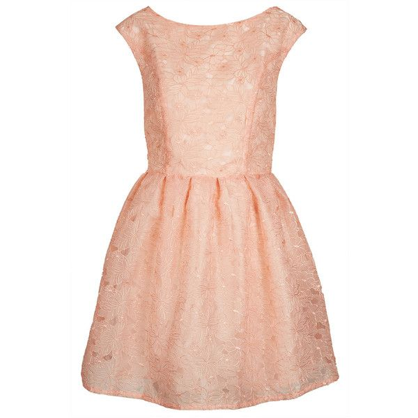 TOPSHOP Petite Delicate Organza Prom Dress (€57) ❤ liked on ...