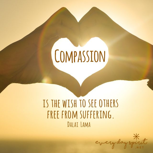 We all walk the path together. compassion For the app of