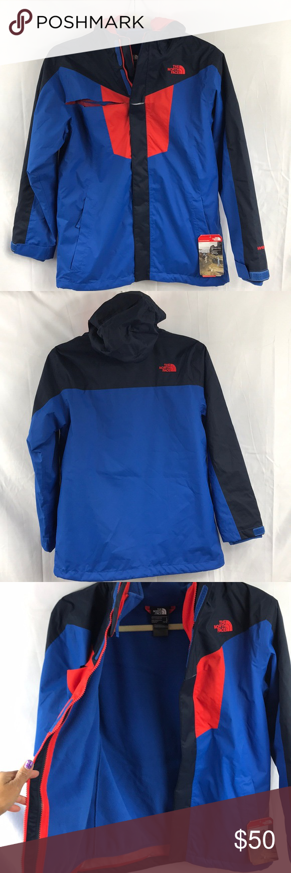 cf0b5d394 The North Face Youth Boys Vortex Triclimate Jacket NEW W/ DEFECT ...