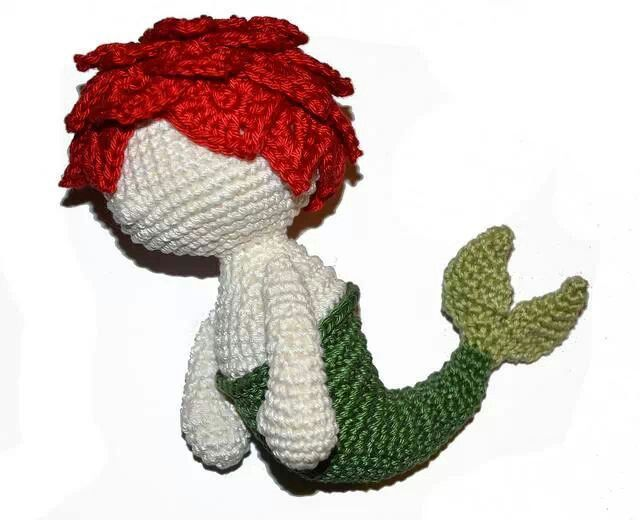 Crochet, merman | creative, inspiration | Pinterest | Hilo y Tejido