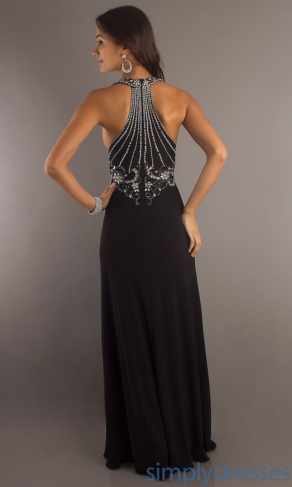 Black Formal Gown With Beaded Cruise Time Styles I Love Dresses