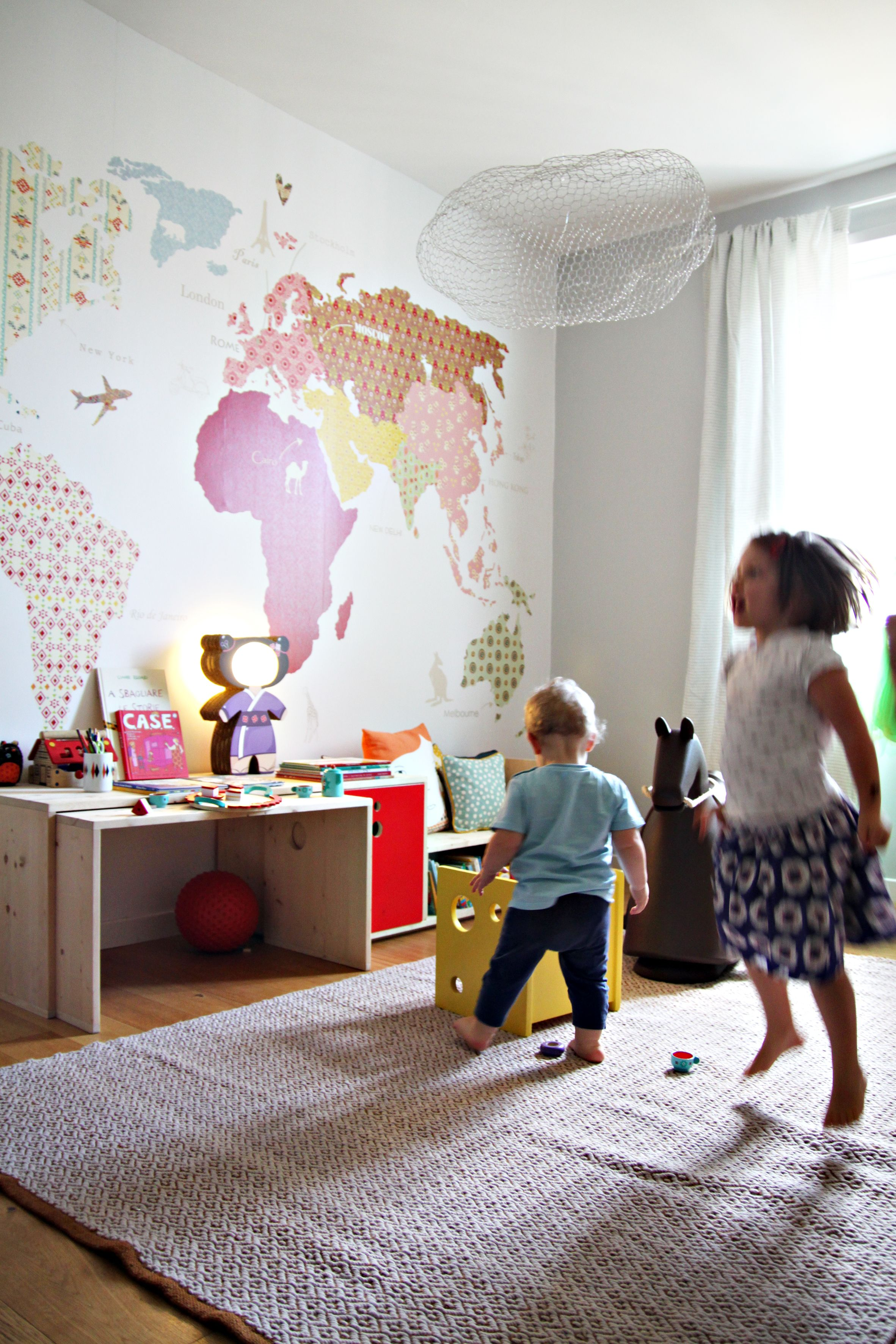 kids desk and livia 39 s chair design of matca studio wall paper map mr perswall cloud magis. Black Bedroom Furniture Sets. Home Design Ideas