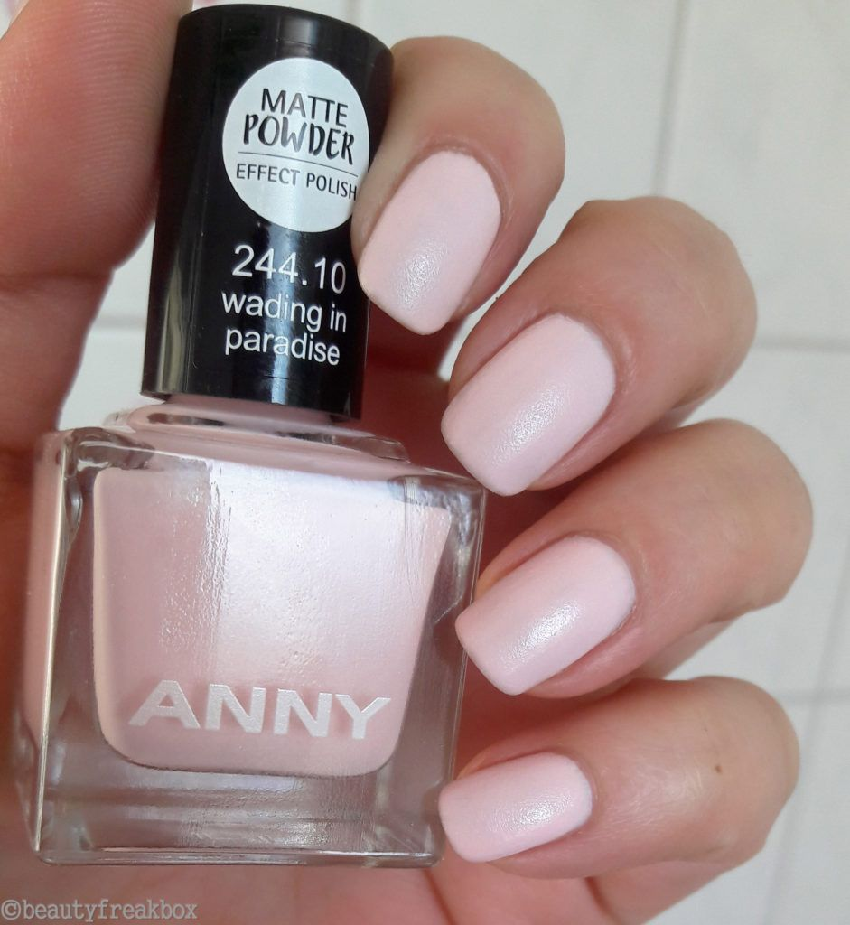 ANNY Matte Powder Effect Polish – 244.10 wading in paradise #anny ...