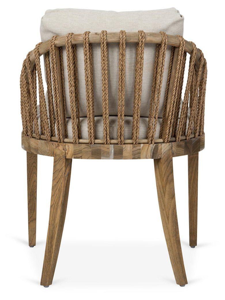 Tulum Armchair Natural Crypton Brownstone Furniture Brands