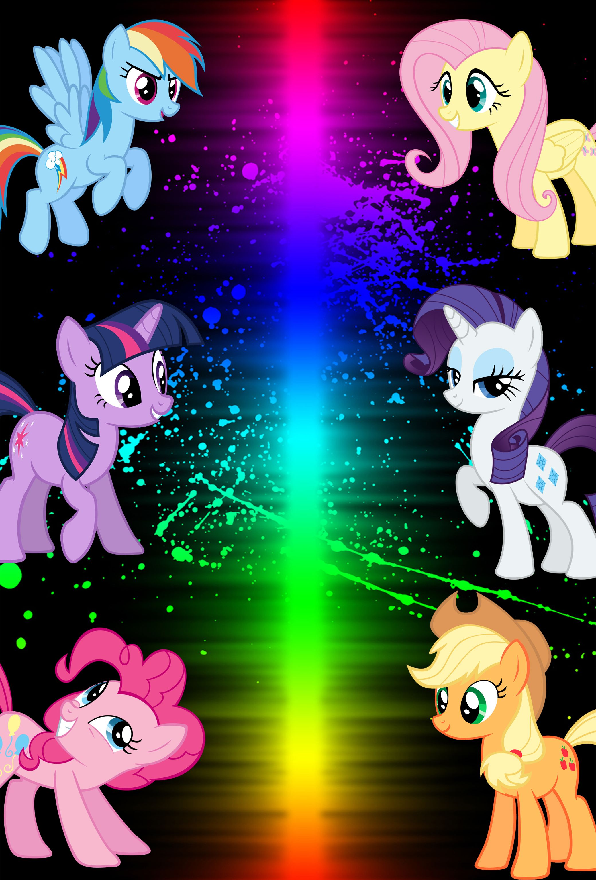 mlp iphone wallpaper - wallpapersafari | mlp | pinterest | mlp