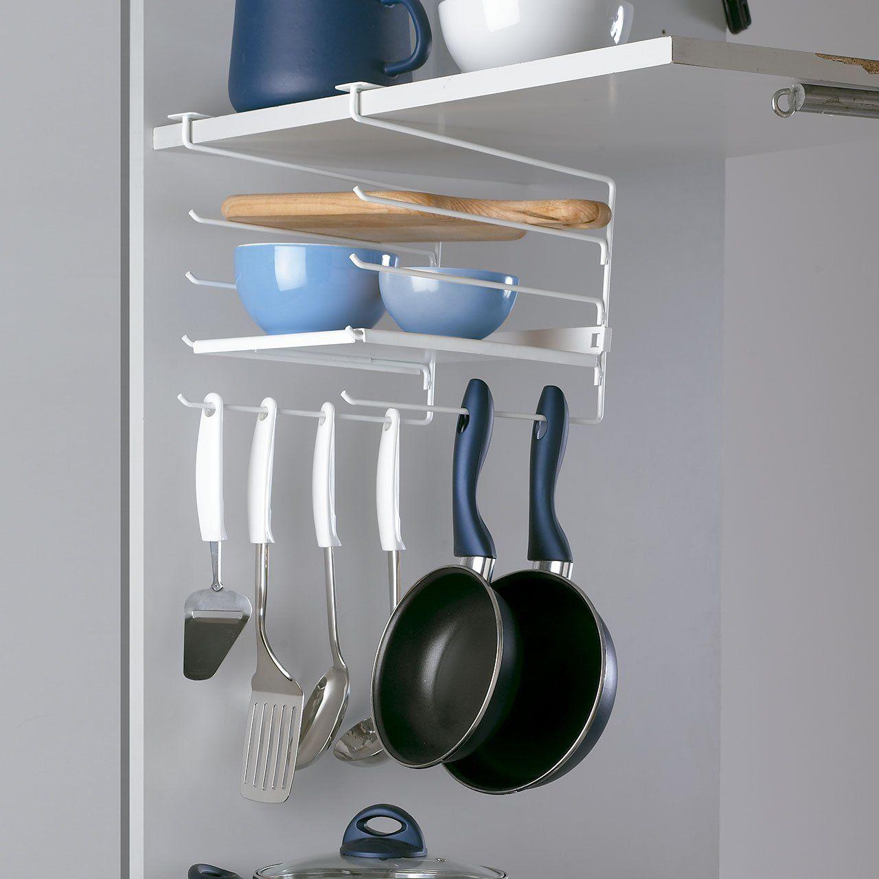 Accessori per organizzare i mobili in cucina! 15 idee da ...