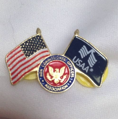 Usaa New Comissioned Officers Association Lapel Pin Lapel Pins