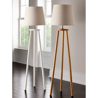 Jayden floor lamp burlap lamp shadesthe company storecozy