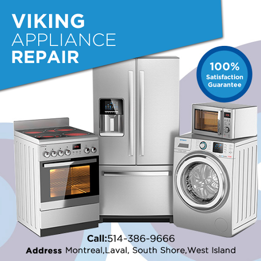 Viking Products Repair Services Montreal | Home appliances ...