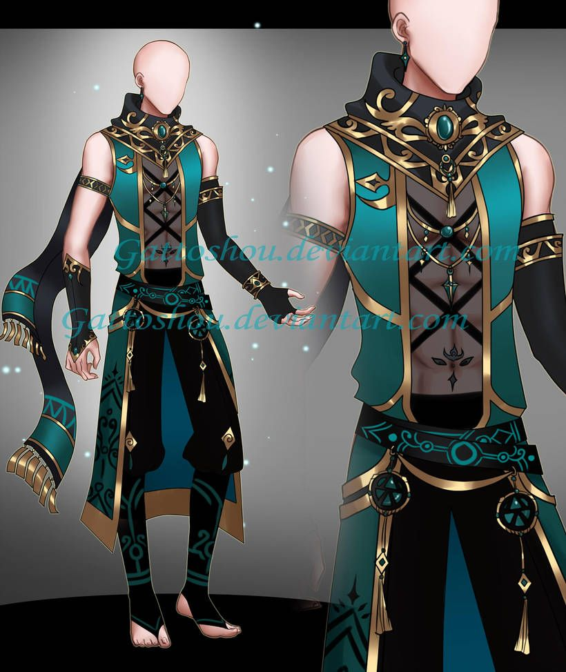 Male outfit adopt 158 auction closed by gattoadopts