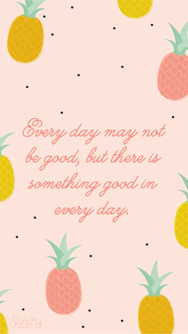 Pink Pineapple Quote Iphone Wallpaper Lock Screen Iphone