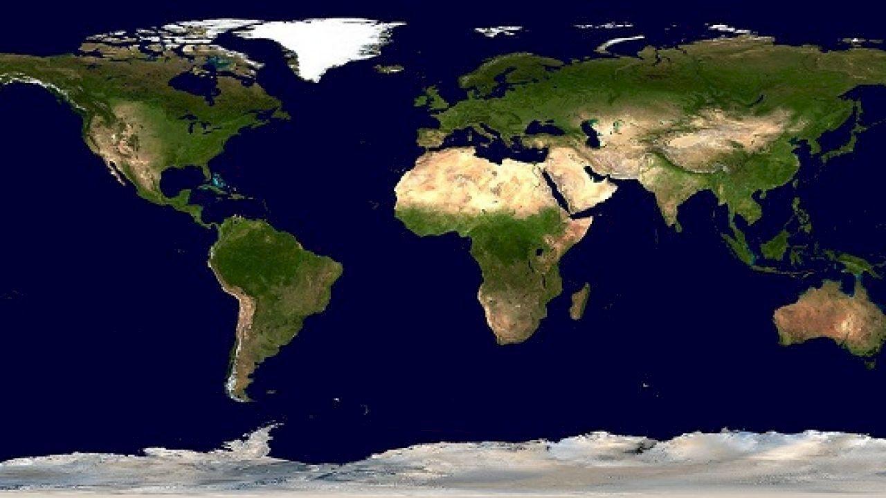 ما أكثر دول العالم من حيث السكان Earth Map Amazing Maps Earth From Space