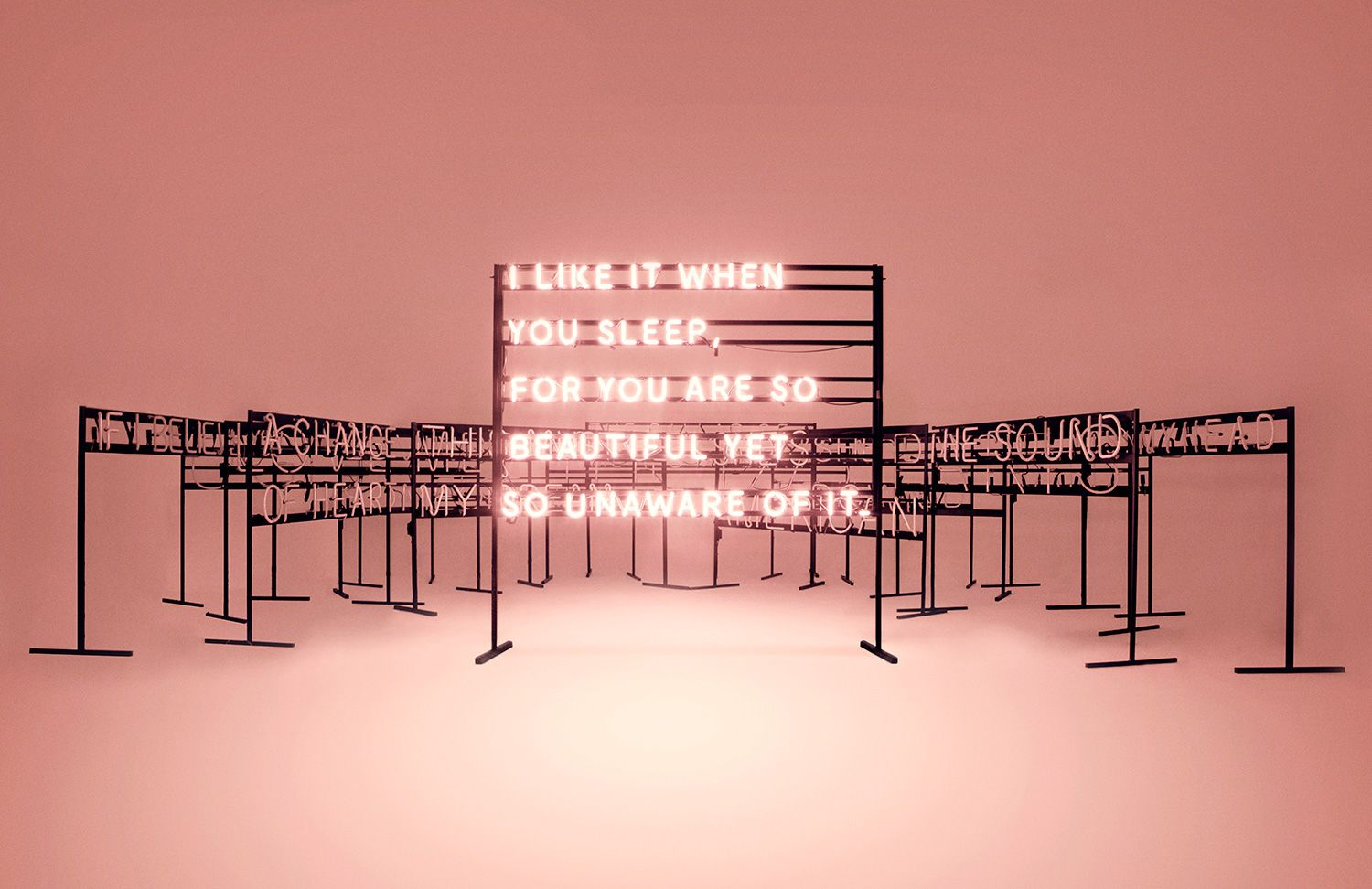 The 1975: Neon Signs on Behance