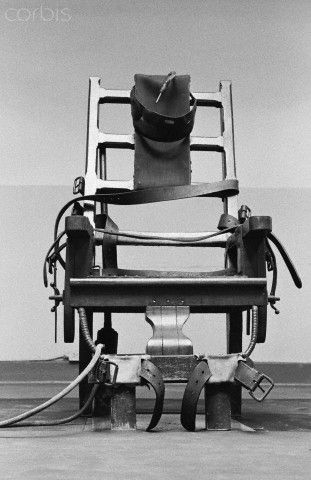 Electric Chair at Sing Sing Prison - 0000404052-011 - Rights Managed - Stock Photo - Corbis