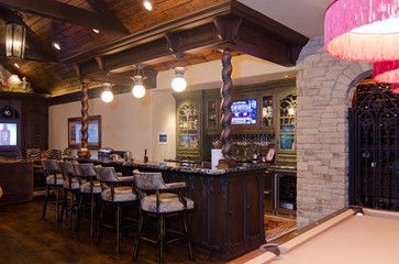 Sports Bar Design Ideas, Pictures, Remodel, And Decor   Page 7
