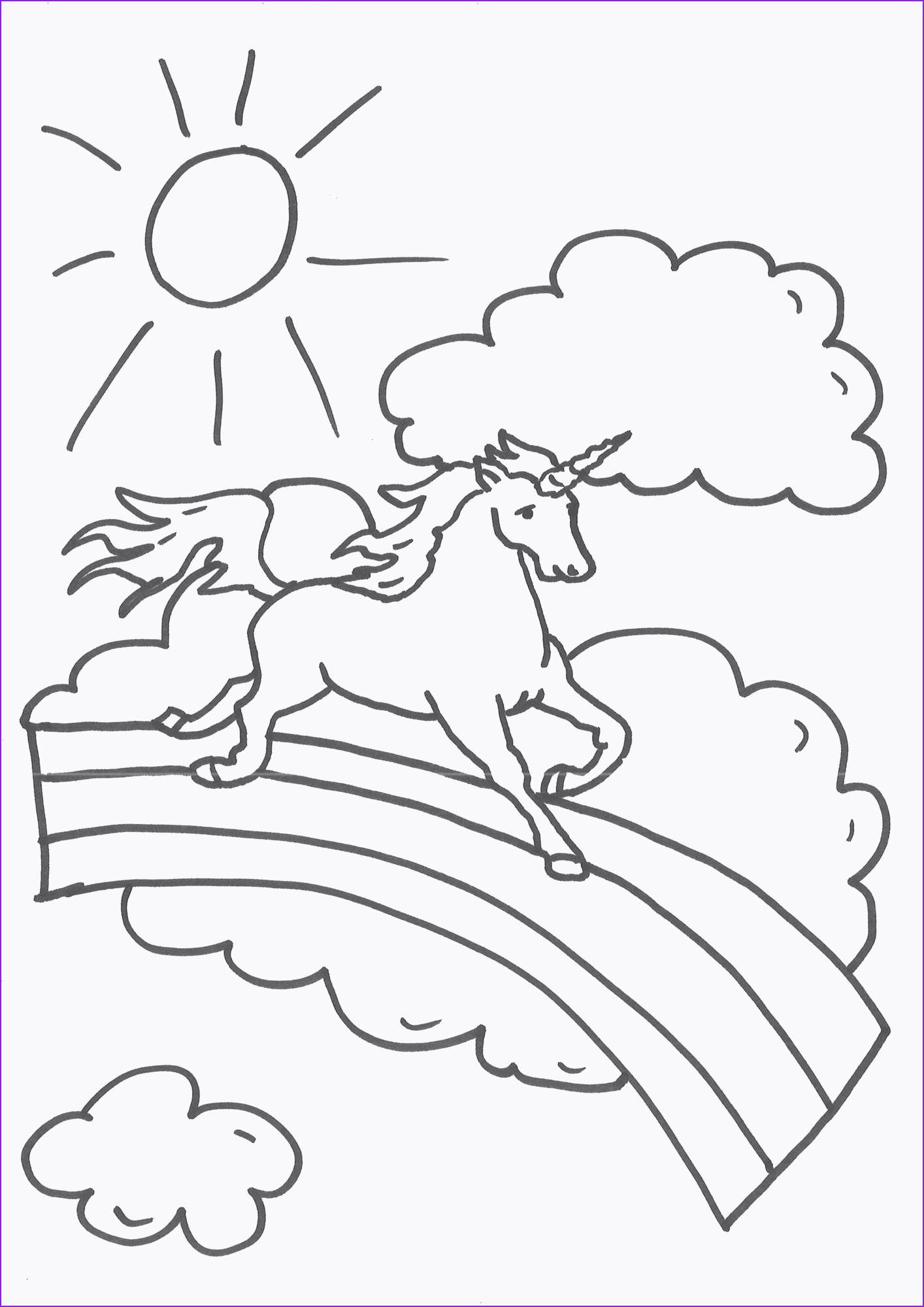 Ausmalbilder Einhorn Pummel Regenbogen Regenbogen Pummel Unicorn Einhorn Ausmalbilder Ausmalbilder Zum Ausdrucken Malvorlagen