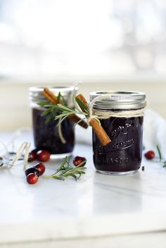 Spiced Cranberry Jam Recipe - your homebased mom - Spiced Cranberry Jam is delicious and so pretty when it is all dressed up in a pretty jar for holiday gift giving.