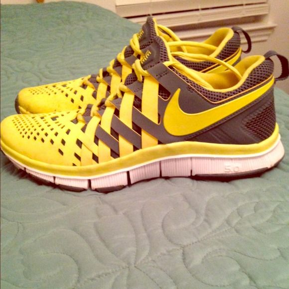 Size 11 Nike Free runs Worn once or twice, in excellent condition. Very comfortable Nike Shoes