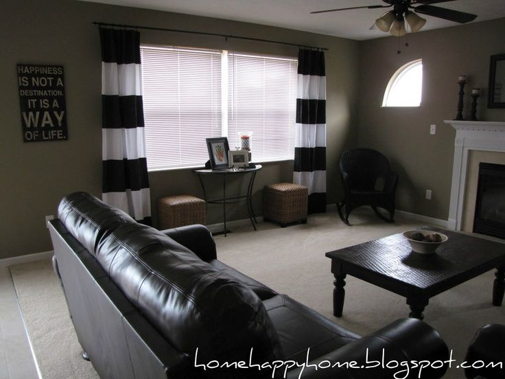 Valspar Barnwood Tan Living Room Paint Color Love The Khaki And Black