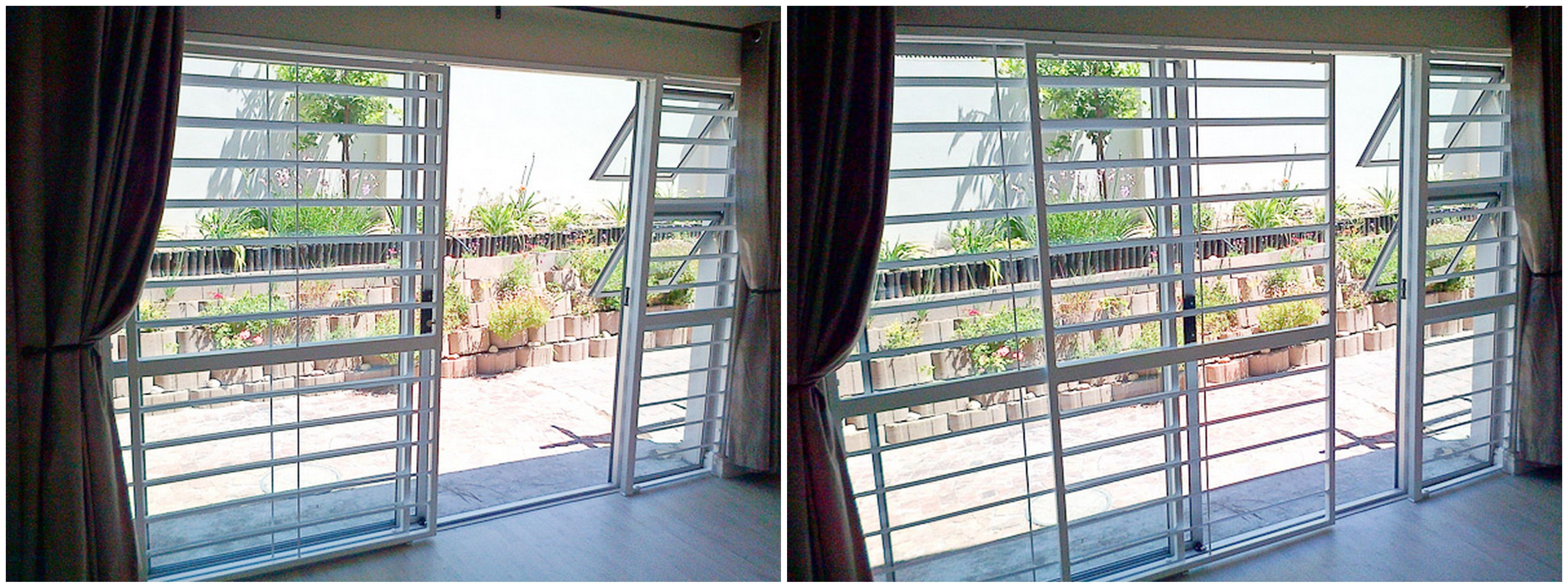 Second Hand Sliding Door Security Gate