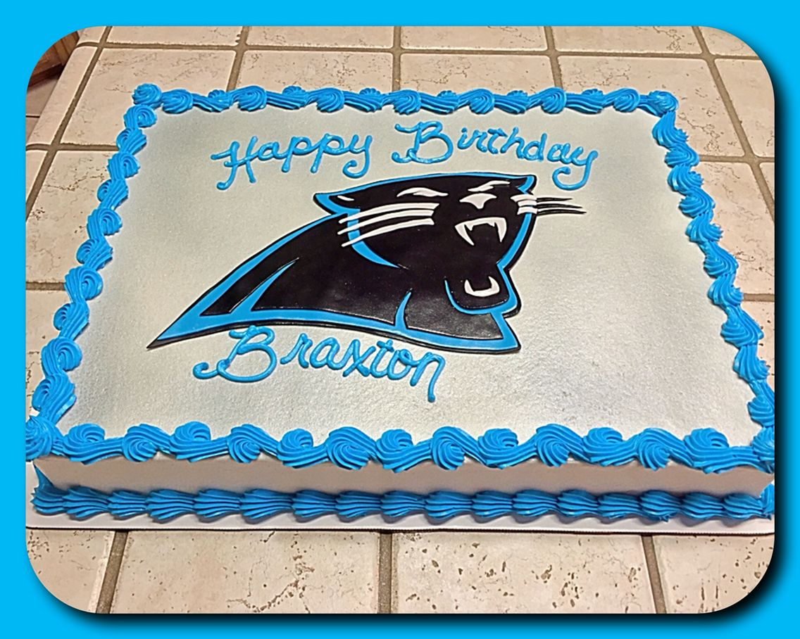 carolina panthers sheet cake the great cakery pinterest