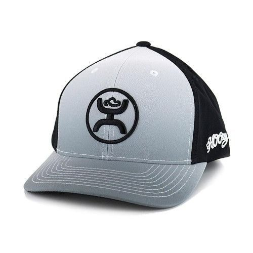 separation shoes bb4c1 546b3 Hooey Hat Cody Ohl Fade Black White Snapback Ball Cap 1633T-BKWH