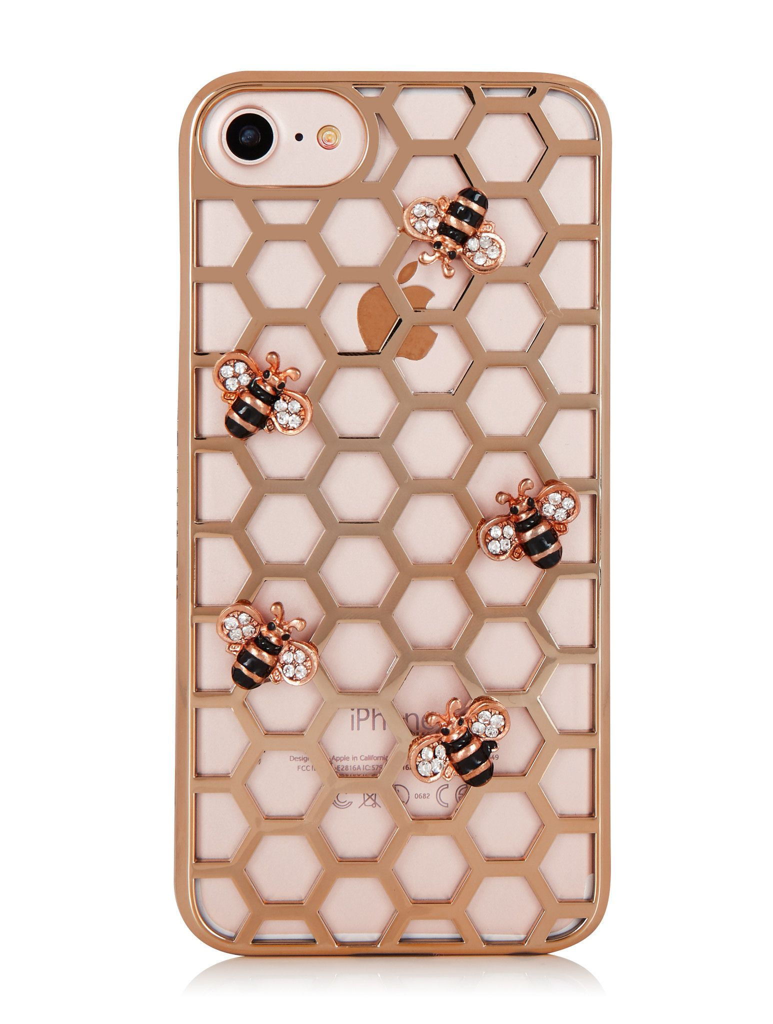 Rose Gold Bee Case