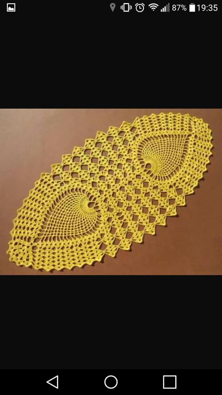 Deckchen | kentyma | Pinterest | Crochet, Crochet doilies and ...