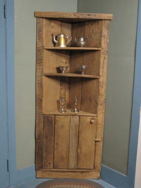 Extraordinary Corner Cabinets Pallet Furniture Wood