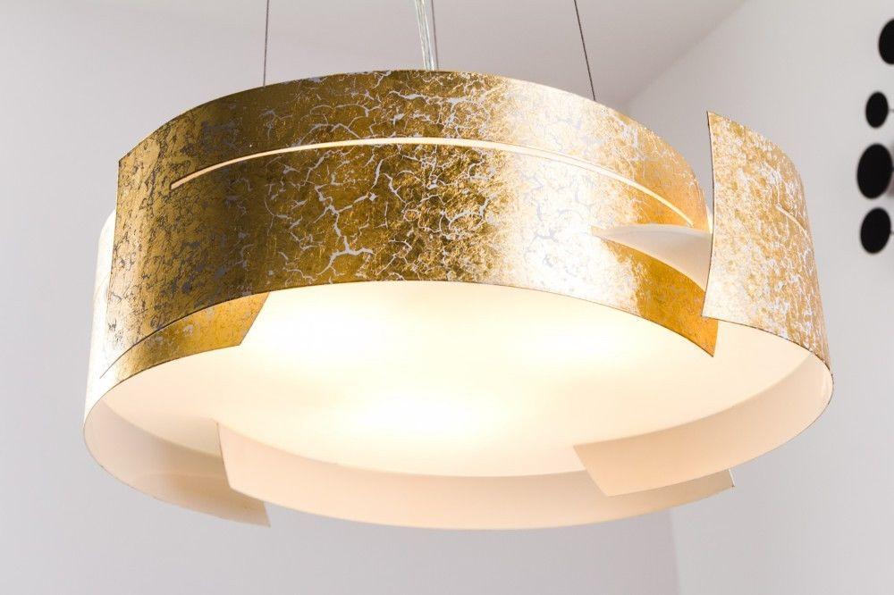 Pendelleuchte Leuchte Design Hängeleuchte Pendellampe Hängelampe gold Farben