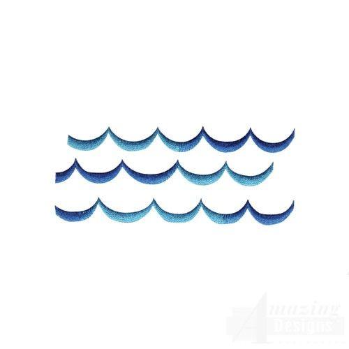 Waves Tattoo. walk on the ocean.