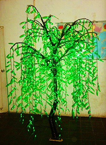 6ft Tall1008pcs LED BulbsLED Lighted Willow Weeping Tree for