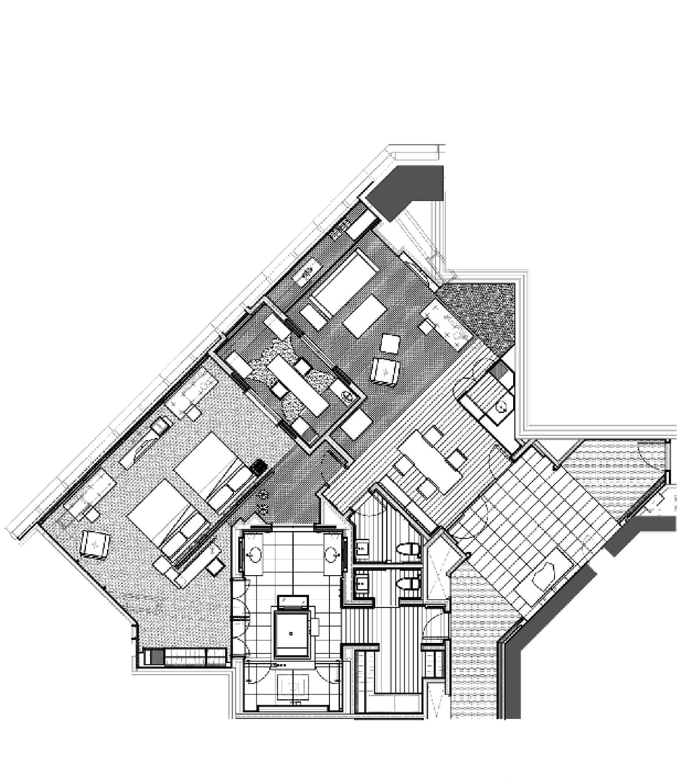 park hyatt shanghai diplomat suite plan pinterest Dubai Hotel Rooms park hyatt shanghai diplomat suite