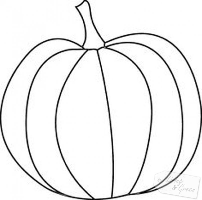 Ausmalbilder Herbst Kürbis: Fadenmalerei *Der Gestickte Kürbis*